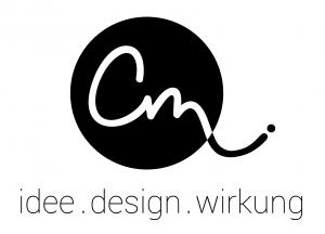 Logo cm Grafikbüro, Carina Mayer