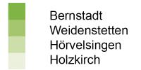 Gemeinden Bernstadt, Weidenstetten, Hörvelsingen, Holzhirch